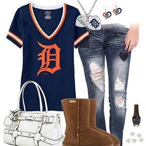 Cute Detroit Tigers Tshirt