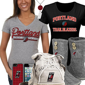 Cute Trail Blazers Fan Gear