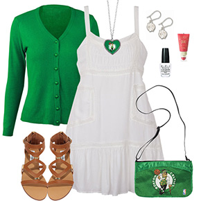 Boston Celtics Dress Outfit