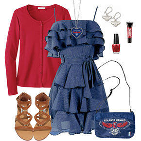 Atlanta Hawks Dress Outfit