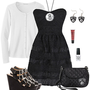 Brooklyn Nets Dress Outfit
