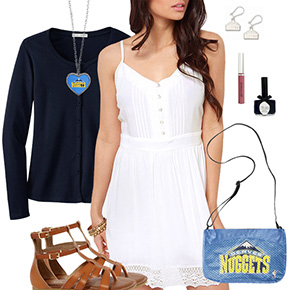 Denver Nuggets Dress Outfit