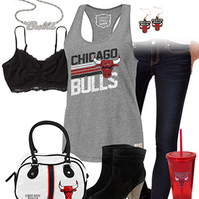 Chicago Bulls Tank Top Outfit