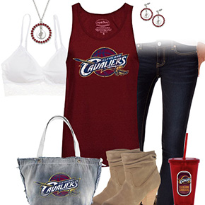 Cleveland Cavaliers Tank Top Outfit