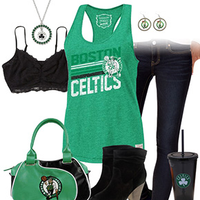 Boston Celtics Tank Top Outfit