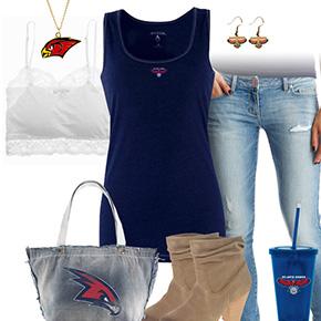 Atlanta Hawks Tank Top Outfit