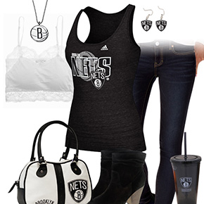Brooklyn Nets Tank Top Outfit