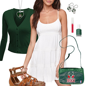 Milwaukee Bucks Dress Outfit