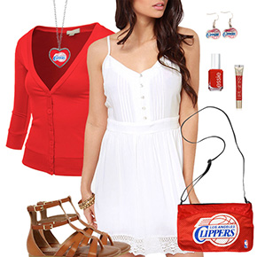 Los Angeles Clippers Dress Outfit