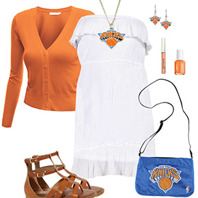 New York Knicks Dress Outfit