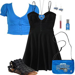 Orlando Magic Dress Outfit