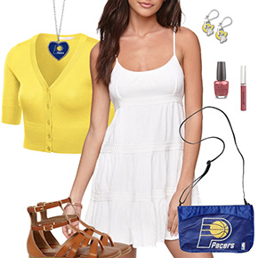 Indiana Pacers Dress Outfit