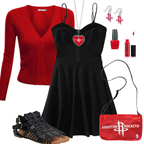Houston Rockets Dress Outfit
