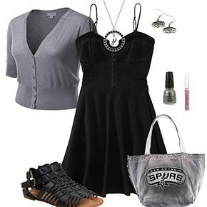 San Antonio Spurs Dress Outfit