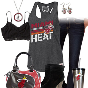 Miami Heat Tank Top Outfit