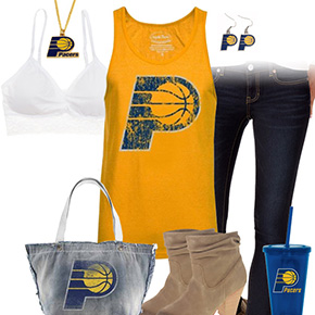 Indiana Pacers Tank Top Outfit