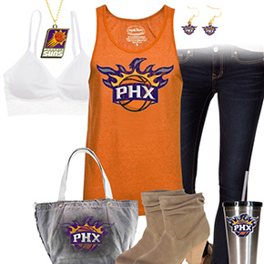 Phoenix Suns Tank Top Outfit