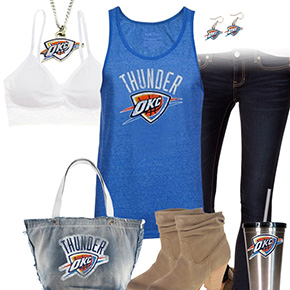 Oklahoma City Thunder Tank Top Outfit