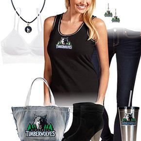 Minnesota Timberwolves Tank Top Outfit