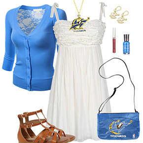 Washington Wizards Dress Outfit