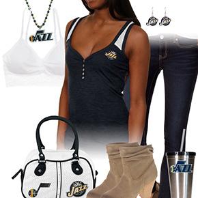 Utah Jazz Tank Top Outfit