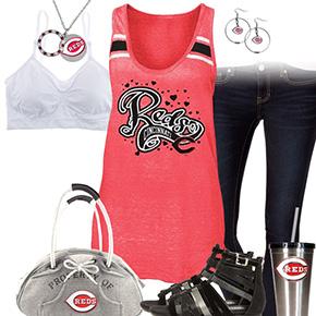 Cincinnati Reds Tank Top Outfit
