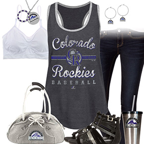 Colorado Rockies Tank Top Outfit