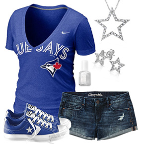 Toronto Blue Jays Outfit With Converse