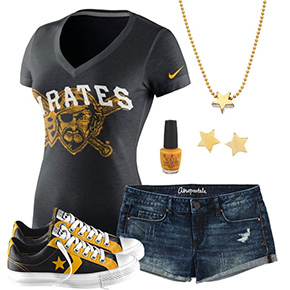 Pittsburgh Pirates Outfit With Converse