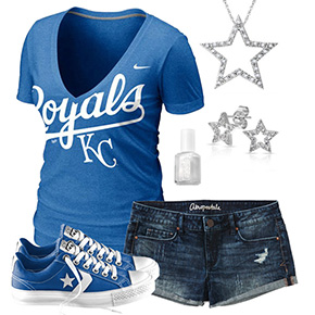 Kansas City Royals Outfit With Converse