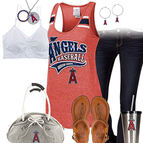 Los Angeles Angels Tank Top Outfit