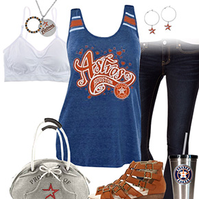 Houston Astros Tank Top Outfit