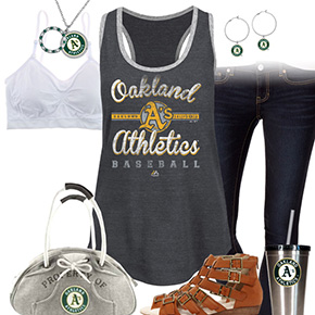 Oakland Athletics Tank Top Outfit