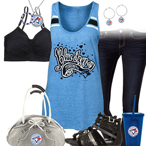 Toronto Blue Jays Tank Top Outfit