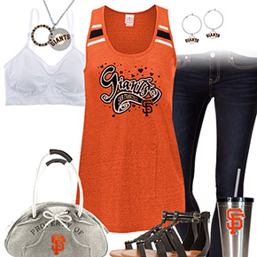San Francisco Giants Tank Top Outfit