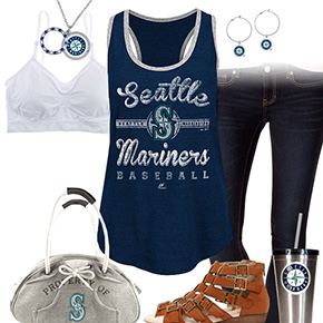 Seattle Mariners Tank Top Outfit