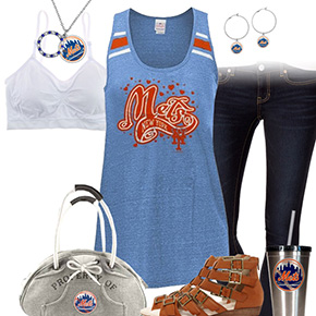 New York Mets Tank Top Outfit