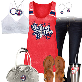Washington Nationals Tank Top Outfit