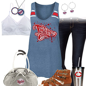 Minnesota Twins Tank Top Outfit