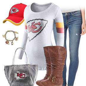 Kansas City Chiefs Inspired Outfit