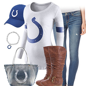 Indianapolis Colts Inspired Outfit