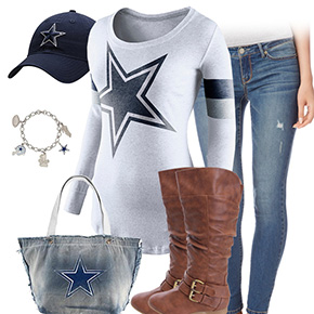 Dallas Cowboys Inspired Outfit