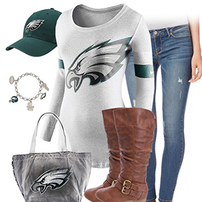 Philadelphia Eagles Inspired Outfit