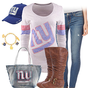 New York Giants Inspired Outfit