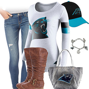 Carolina Panthers Inspired Outfit