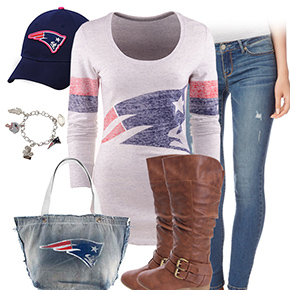 New England Patriots Inspired Outfit