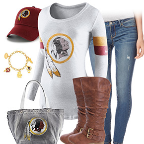 Washington Redskins Inspired Outfit
