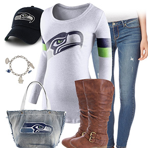 Seattle Seahawks Inspired Outfit