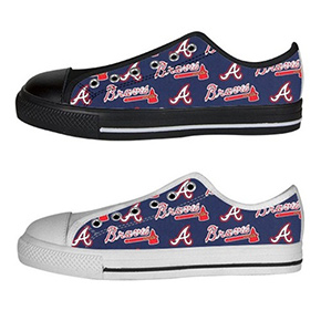 Atlanta Braves Converse Sneakers