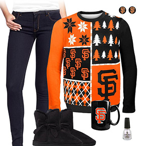 San Francisco Giants Sweater Outfit